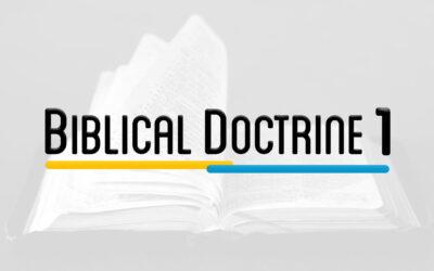 SYS 301 – BIBLIC DOCTRINE 1