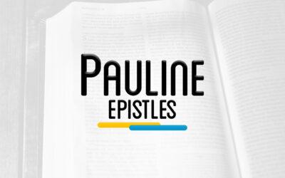 NTS 403 – PAULINE EPISTLES