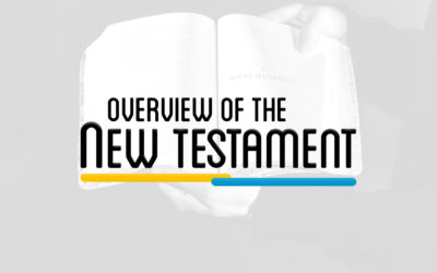 NTS 101 – OVERVIEW OF THE NEW TESTAMENT