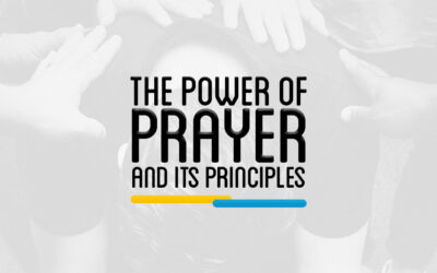 PTH 301 – THE POWER OF PRAYER AND ITS PRINCIPLES