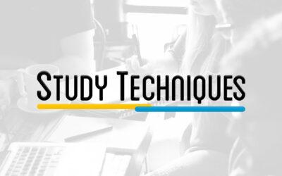 ST101 – STUDY TECHNIQUES